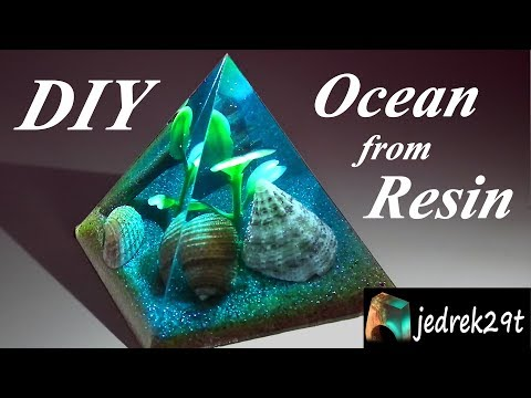 DIY! Ocean from Resin/Ocean z Żywicy