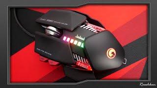 Marvo Scorpion G980 - Masywna myszka o futurystycznym wyglądzie