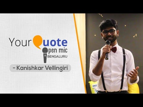 'Pokémon Go' & 'FAQs' by Kanishkar Vellingiri | English Poetry | YQ Open Mic 2 Bengaluru