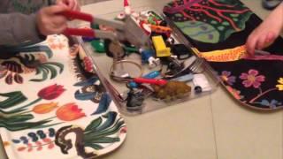 Magnet plockar metall - bNosy Enkla Experiment för Barn 16