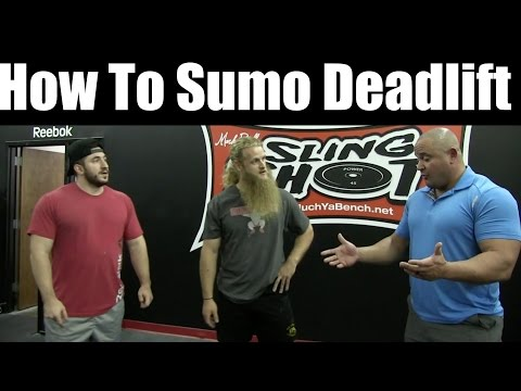 How To Sumo Deadlift - feat. Mark Bell and Silent Mike