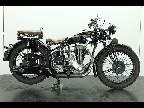 Motosacoche Model 310 1928 350cc  - start up