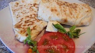 Лаваш с сыром и помидорами, простые рецепты