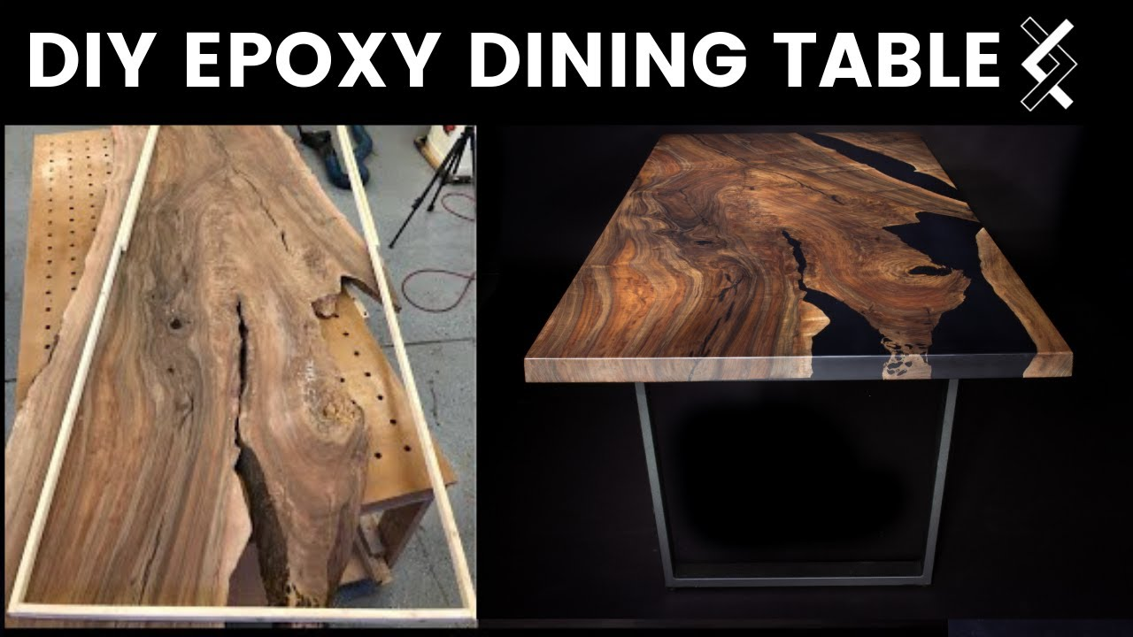 Diy Epoxy Dining Table How To Woodworking Part One Of Two
