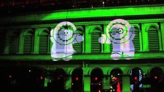 Fête des Lumières : les Anooki à l'opéra de Lyon