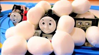 Thomas & Friends The Adventure Begins Plarail きかんしゃトーマス はじめて物語セット プラレール thumbnail