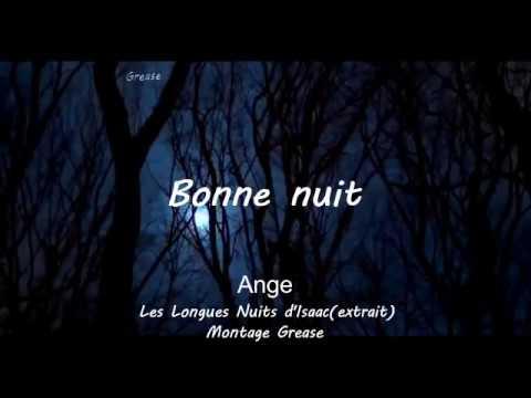 Poème Bonne Nuit Ange