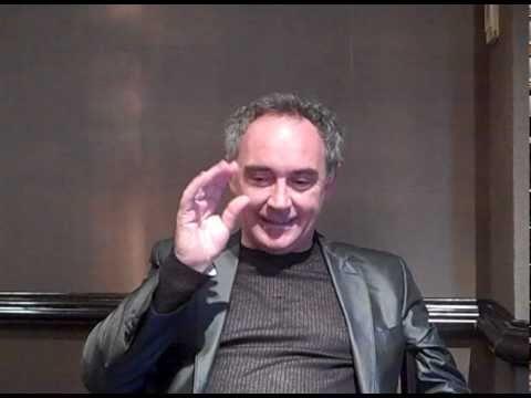 Ferran Adria interview