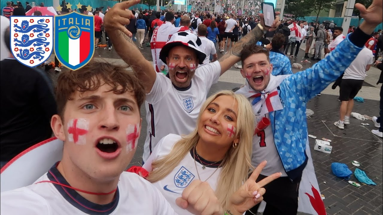 WE WENT TO THE EURO FINALS!!