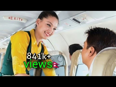 kathmandu to pokhara flight full video with kali prasad baskota musician..