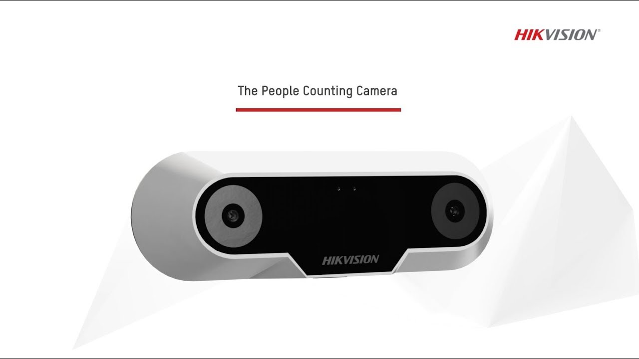Hikvision – The People Counting Camera