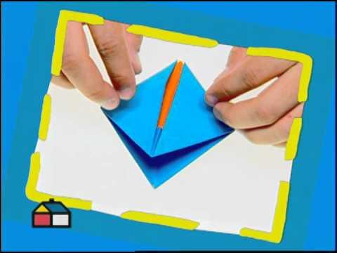 doblado de papel para hacer figuras geometricas