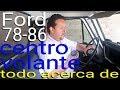 Ford 79 MEXICANA - Centro de Volante ORIGINAL y Réplica 78-86.