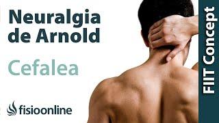 Dolor de cabeza o cefalea por neuralgia de Arnold o neuralgia occipital.