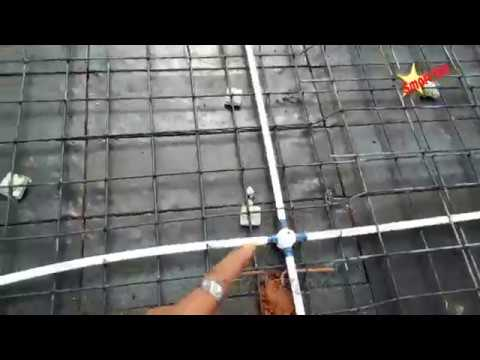 house electric wiring of slab roof wiring roof conduit pipping rh youtube com Electrical Wiring Electrical Wiring