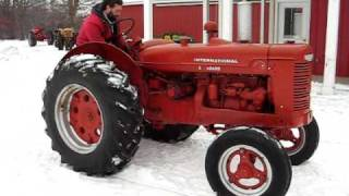 Farmall W4 for Online Auction
