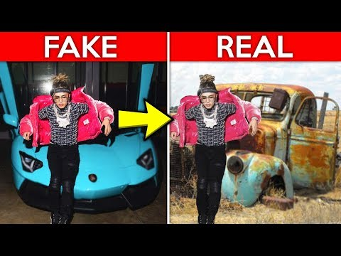 Broke Rappers That Faked Being Rich...
