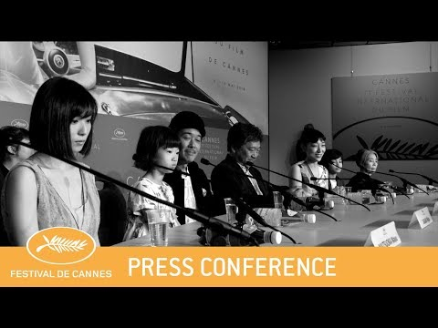 MANBIKI KAZOKU - Cannes 2018 - Press Conference - EV Mp3