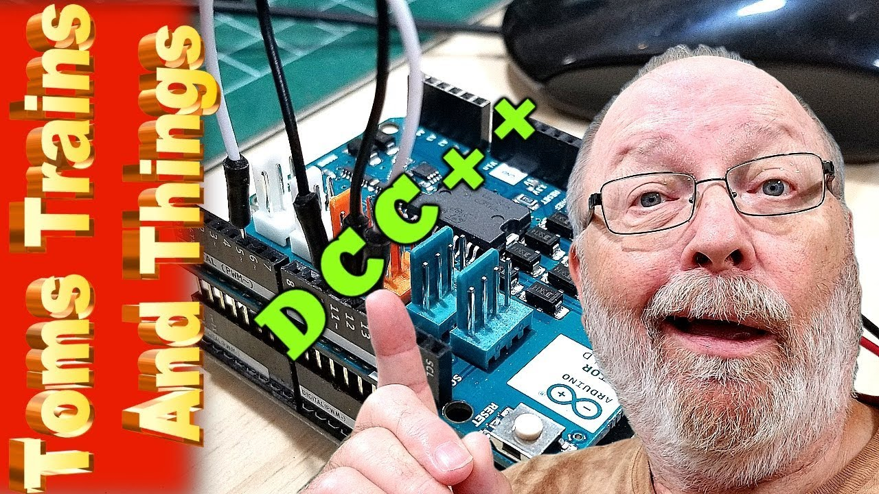 Switch To DCC using Easy and Inexpensive DCC++ On Arduino