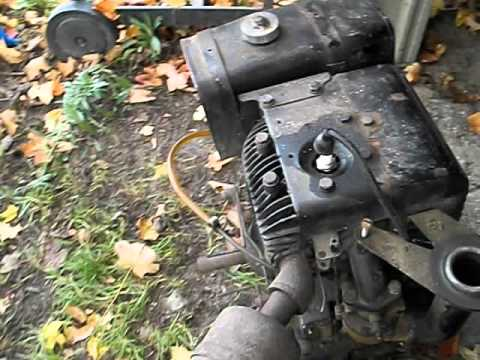 1953 briggs stratton model 14 engine youtube. Black Bedroom Furniture Sets. Home Design Ideas