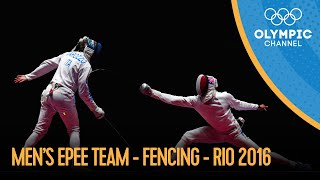 Fencing: Men's Epee Team | Rio 2016 Replays
