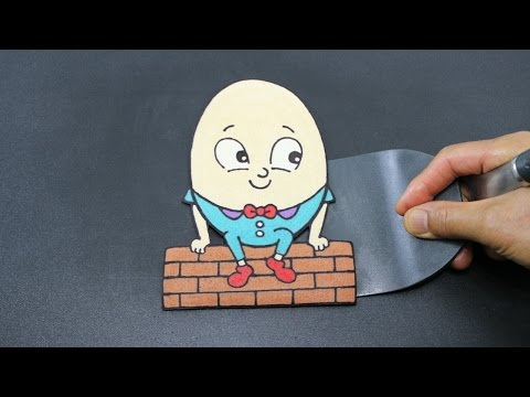 PANCAKE - Humpty Dumpty Nursery Rhyme Kids Children Toddlers Song by Tiger Tomato