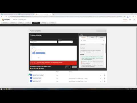 How to use the Lookup and ParseLookup functions with the Lookup control