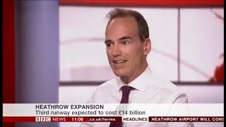 Coalition Chair on BBC News