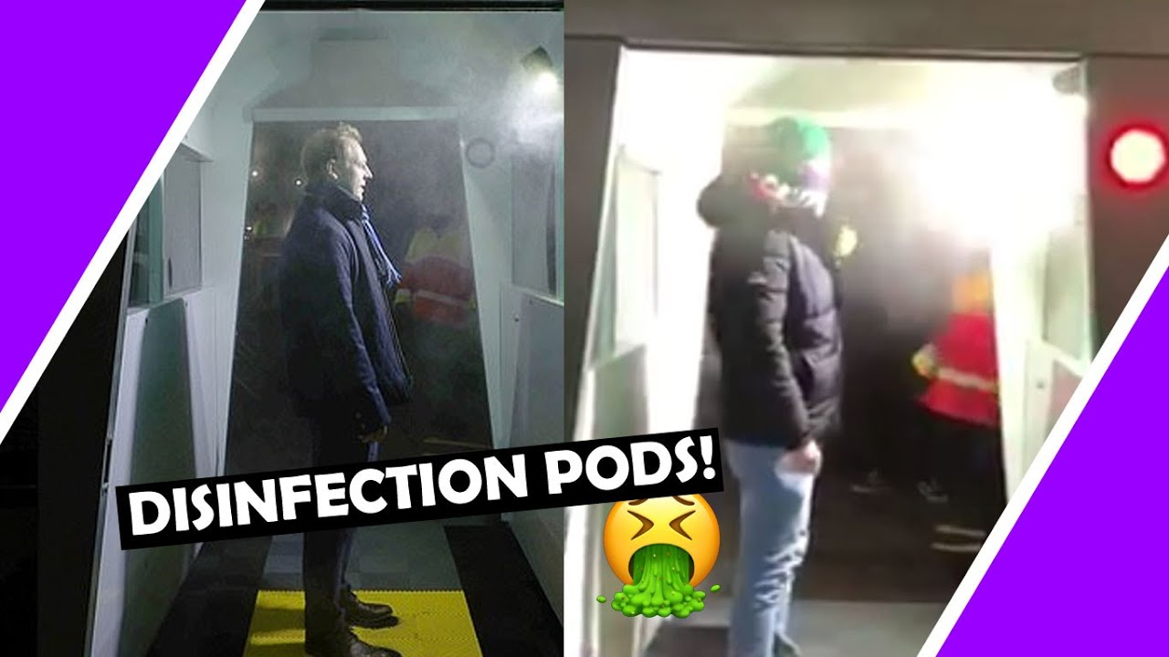 Disinfection Pods Coming To A Supermarket Near You Very Soon #lockdown