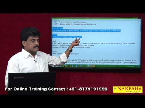 HTML Forms - Part 2   Web Technologies Tutorial    Mr.Subbaraju