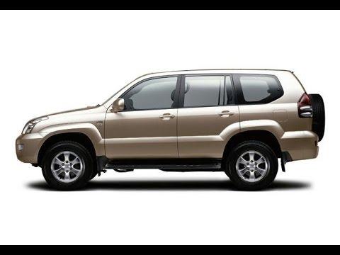 Тонировка Toyota Land Cruiser Prado 120 в Казани.