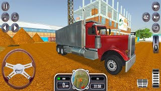 Heavy Excavator Pouring Sand into Dumper Truck - Construction Simulator 2021 - Android Gameplay