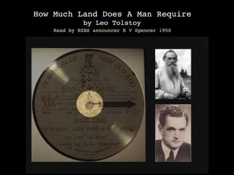 How Much Land Does A Man Require by Leo Tolstoy
