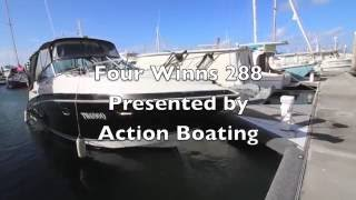 Four Winns 288 Sports Cruiser for sale Action Boating, boat sales, Queensland, Australia