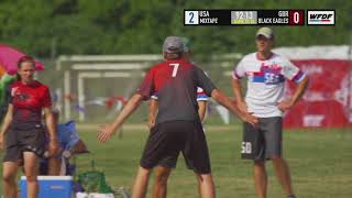 WUCC 2018 - Seattle Mixtape (USA) vs. Black Eagles (GBR)