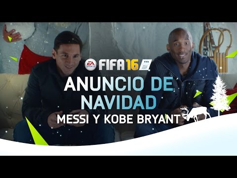 FIFA 16 – Anuncio de Navidad - Messi y Kobe Bryant