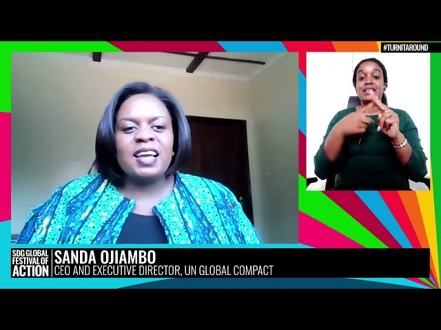 A Turning Point Dialogue: In Conversation with Sanda Ojiambo (French)