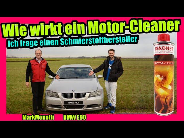 Wie wirkt ein Motor-Cleaner? | Ich frage einen Schmierstoffhersteller | MarkMonetti