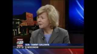 February 18, 2014: Senator Baldwin talks with WEAU