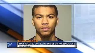 Facebook Live video leads Milwaukee Police to drug dealing arrest