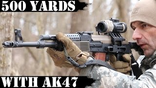 Vepr AK47 - 500 Yards Shooting