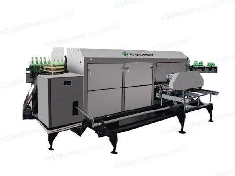 Automatic Used Bottle Washing Machine Supplier For Beer Wine Glass Bottles Washer