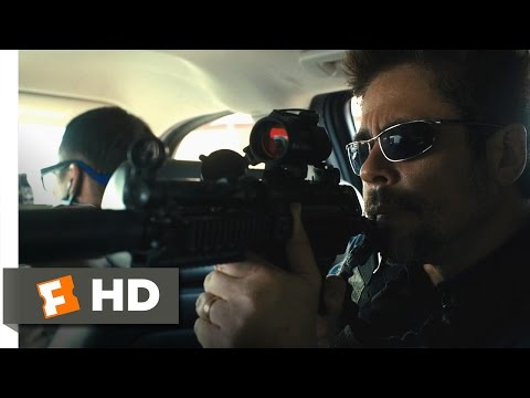 Sicario (3/11) Movie CLIP - Border Ambush (2015) HD