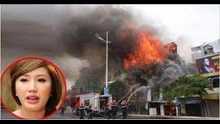 Tin nong - Nhà và xe hơi của ca sỷ Bảo Thy bị cháy trong đêm -