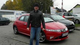 Honda Civic VIII UFO 1.4 83 KM 2006 r. opinie test www.polmoto.pl