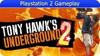 Tony Hawk Underground 2 Gameplay (PS2 Gameplay)