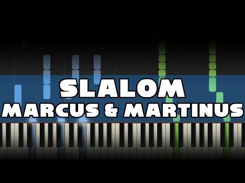 Marcus & Martinus - Slalom - Piano Tutorial