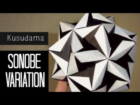kusudama ball diagram vehicle wiring diagrams remote start tutorial origami / (sonobe variation) - youtube
