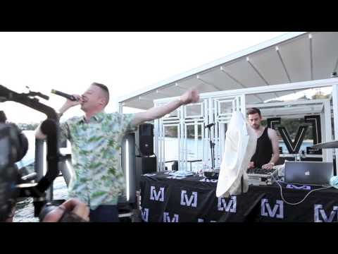 Macklemore & Ryan Lewis play at [V] Island Party