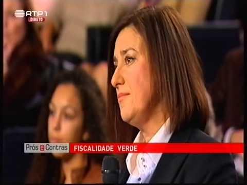 Fernanda Pargana no Prós e Contras
